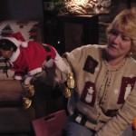 Really Unhappy Snowy Santa