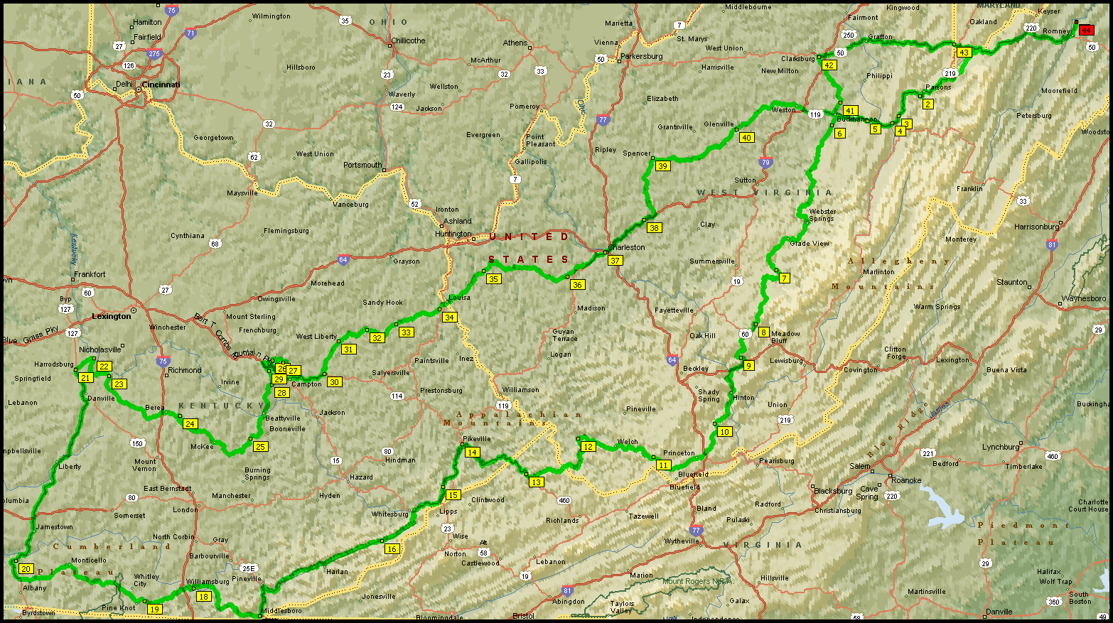Map Ky Wv^@# Motorcycle Map Of Wv on map of md, map of raleigh county west virginia, map of ohio, map of tx, map of pennsylvania, map of wi, map projection, map of virginia with cities, map of ky, map of west virginia cities, map of west virginia only, map of wy, map of tennessee, map of west virginia and virginia together, map of ct, map of nc, map of wvu, map of west virginia mountains, map of elkins west virginia, map of va,
