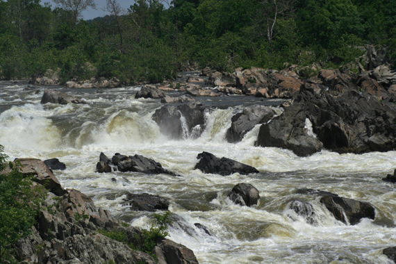 Great Falls (seen from Virginia)