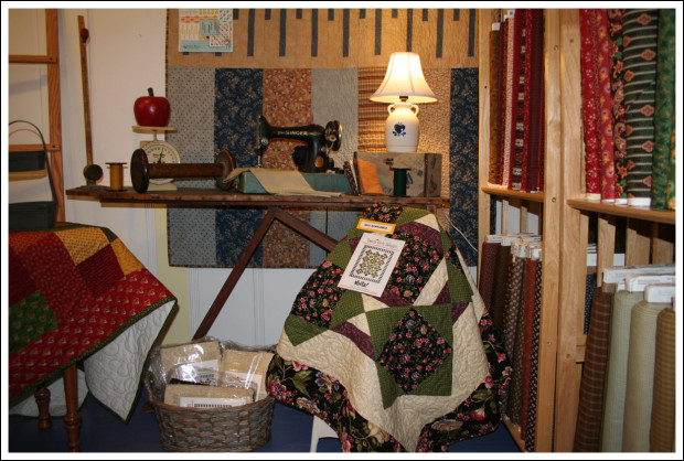 Inside Kelly Ann's Quilting