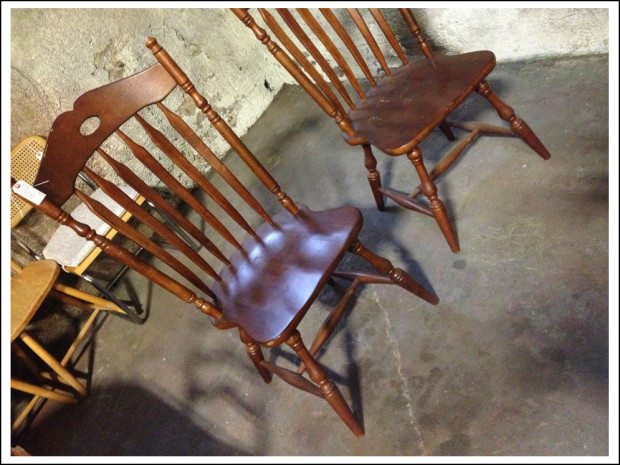 Chairs (about $35 each).