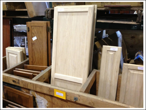 Cabinet doors of all shapes, sizes, and finishes. Or unfinished.