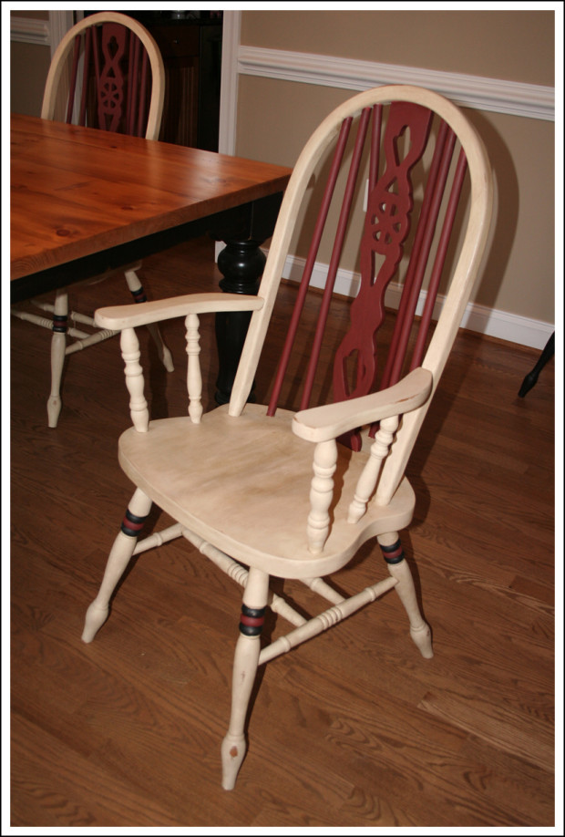 A completed chair!