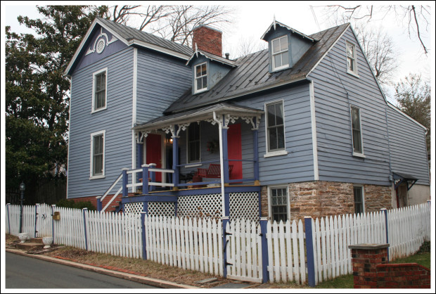 My favorite house on North 6th Street.