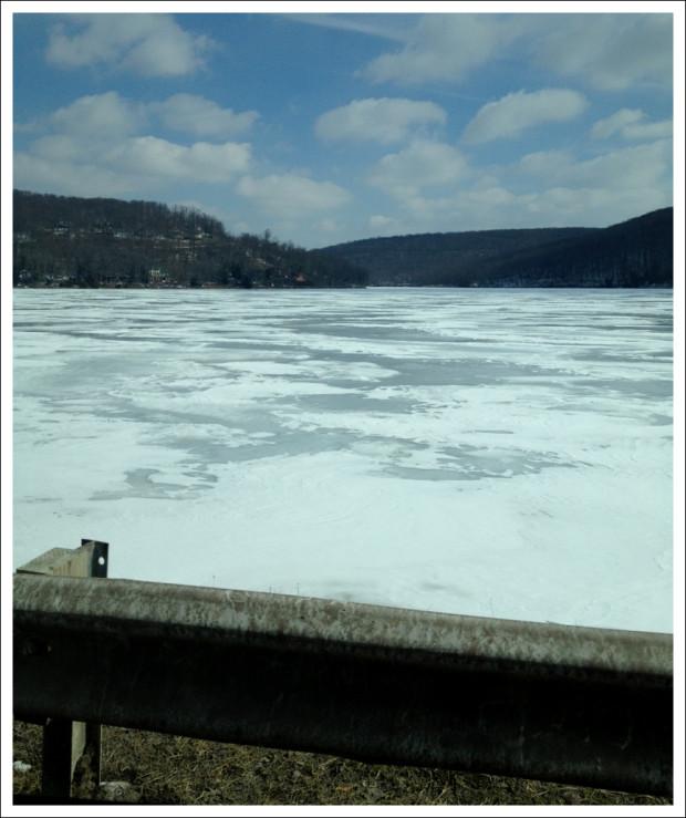 Deep Creek Lake, Frozen