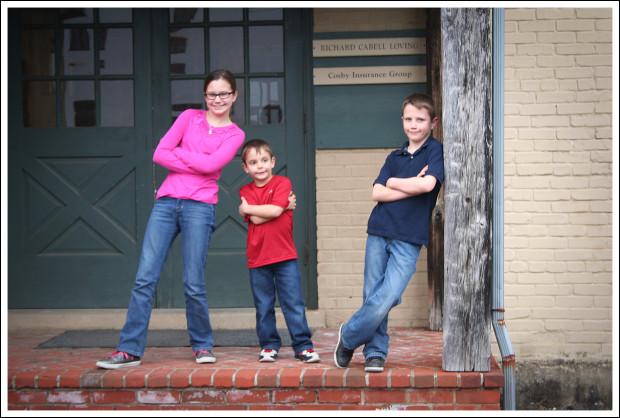 Brianna (12), Joey (5), and Gaige (9)