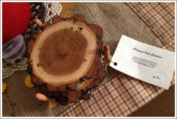 Chestnut Oak Coasters