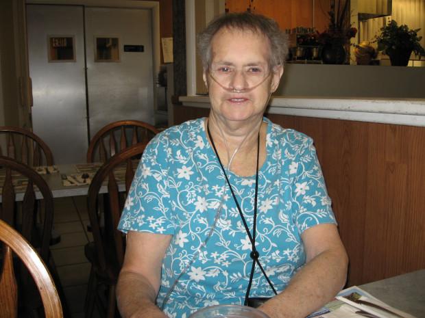 Mom in July 2012