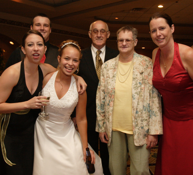 L-R, Shannon, Eric, Amy, Dad, Mom, and Me