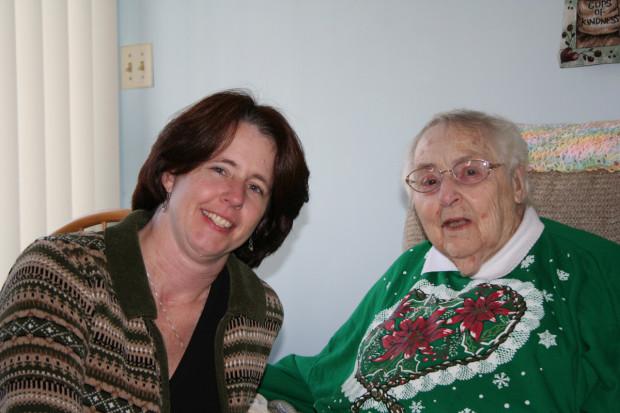 Me and Grandma, Christmas 2007