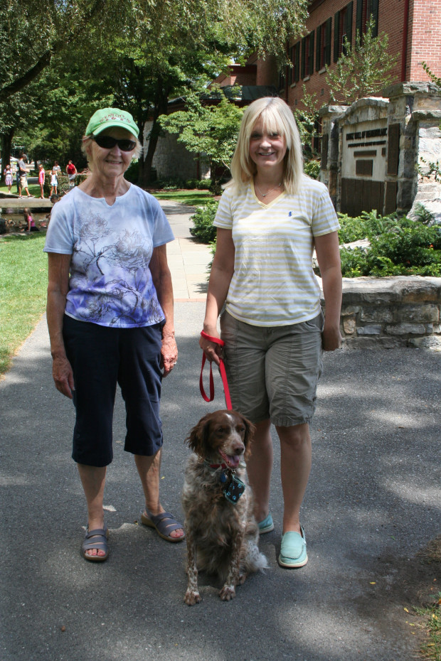 Ann and Jenn with K