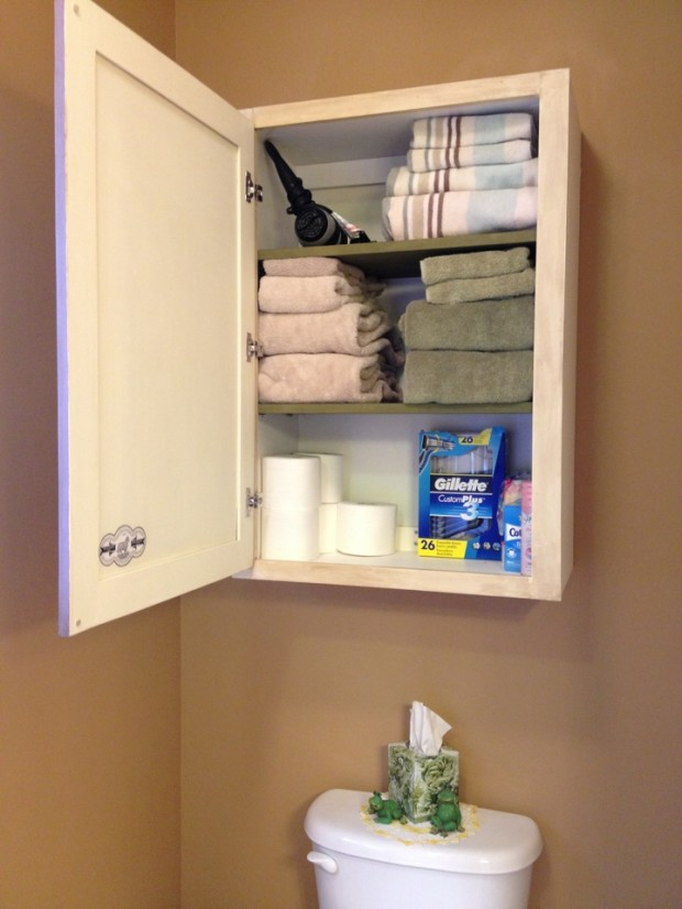 Cabinet in Use