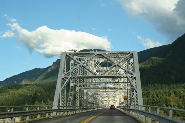 Entering Oregon
