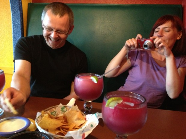 El Toro's infamous Sangria Margaritas
