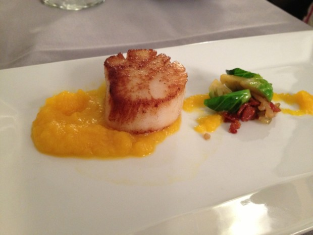 Pan-seared Scallop