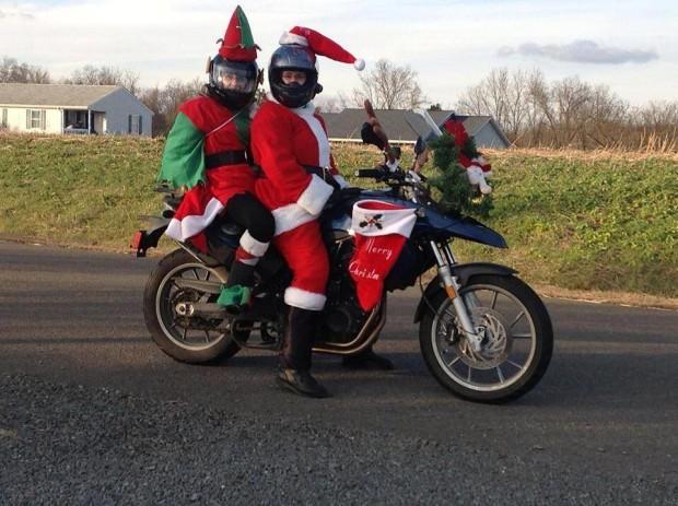 Santa Ride 1
