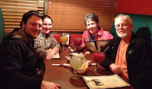 Sunday night dinner at El Toro.