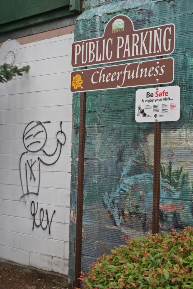 Ironic Graffiti