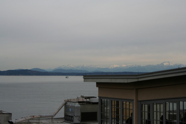 View of the Olympic Range
