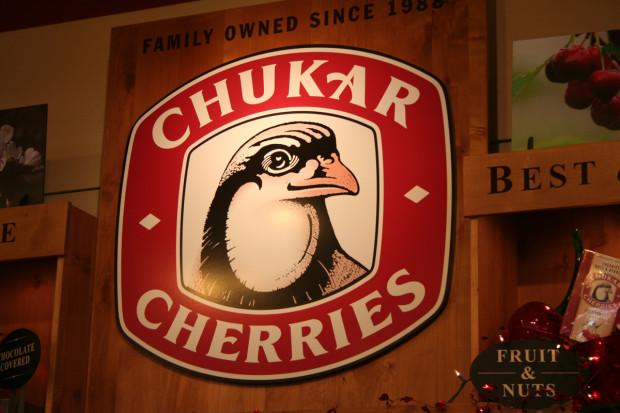 Chocolate-covered Washington Cherries
