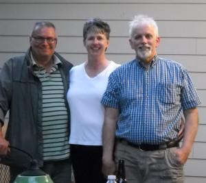 Alain, Me, and Mike