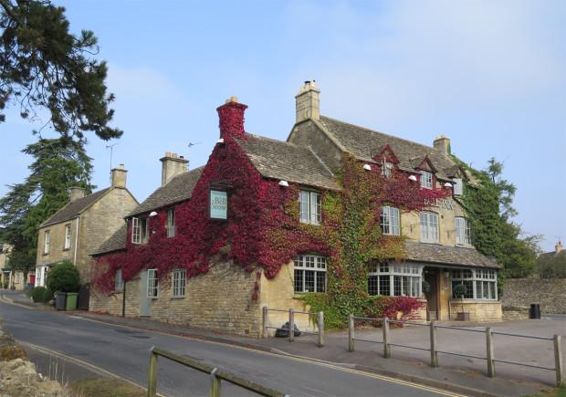 Ivy-covered Inn
