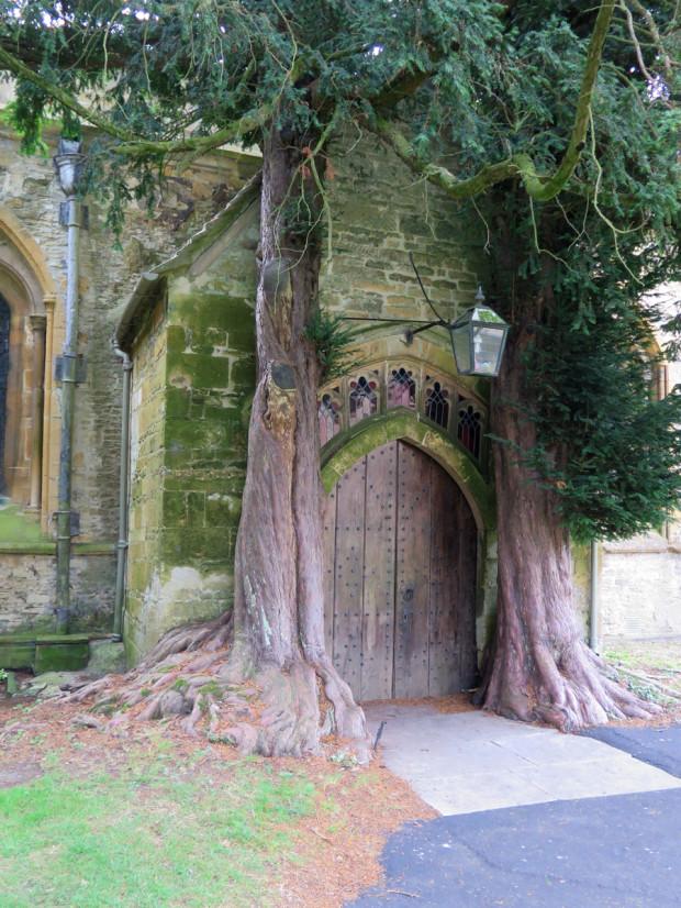 North door of St. Edward's Church