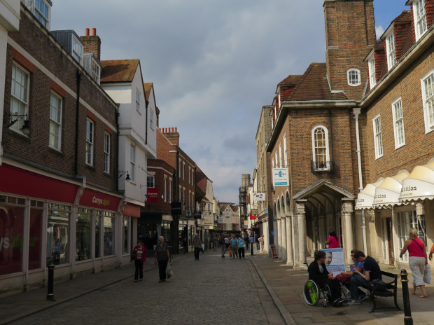 Burgate Street (immediately adjacent to the Precincts of Canterbury Cathedral) property)