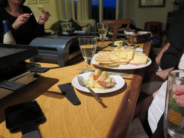 Raclette in Switzerland