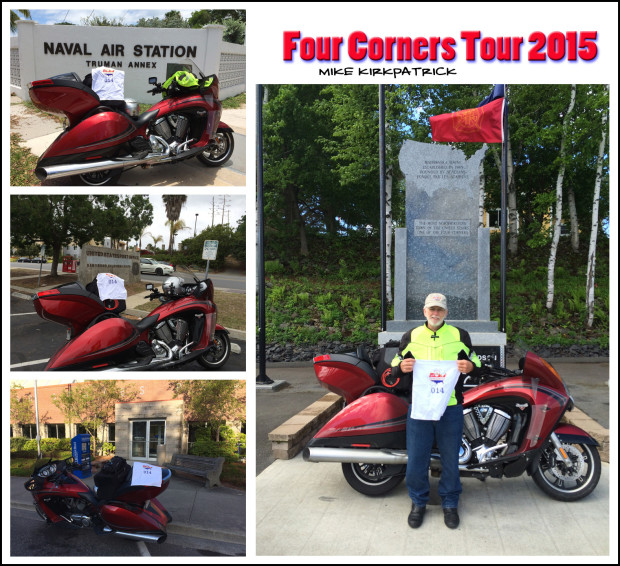 Four Corners Tour, Complete