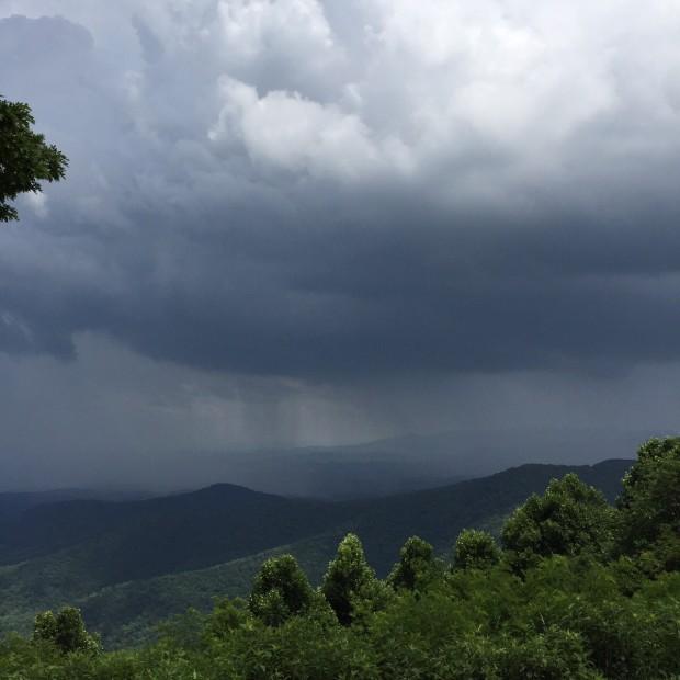 Ominous-looking storm.