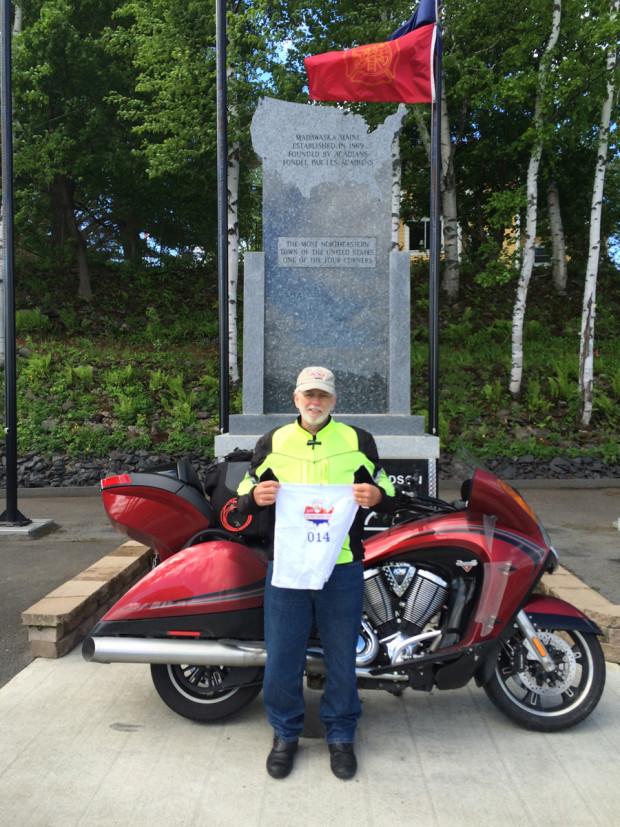 Mike in Madawaska, Maine (the fourth corner)