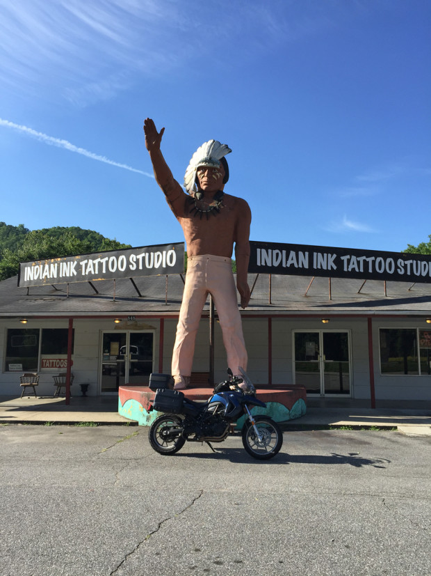 Muffler Man Indian, Cherokee, NC