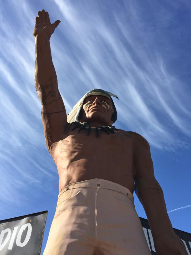 Muffler Man Chief, Cherokee, NC