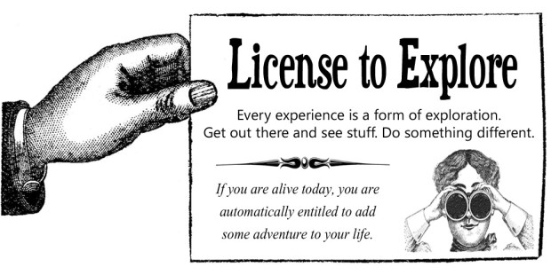 License to Explore
