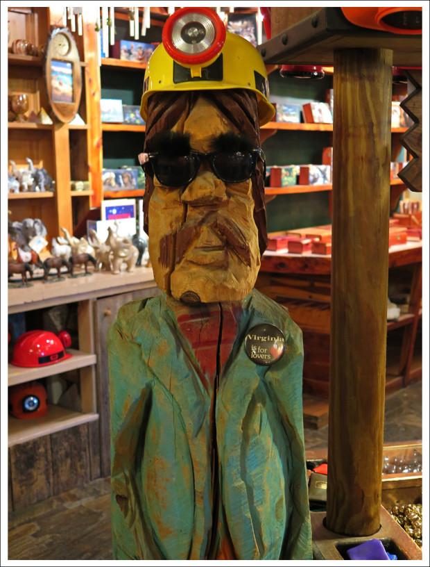 Shenandoah Caverns' Miner