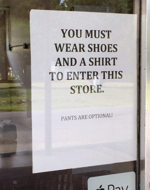 Sign at The Dyke Store