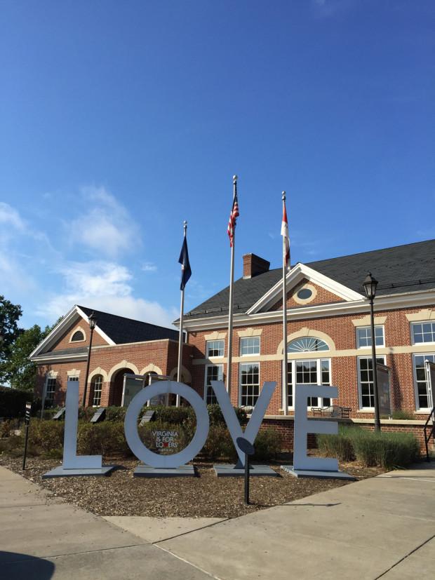 LOVEwork at Fredericksburg I-95 Welcome Center