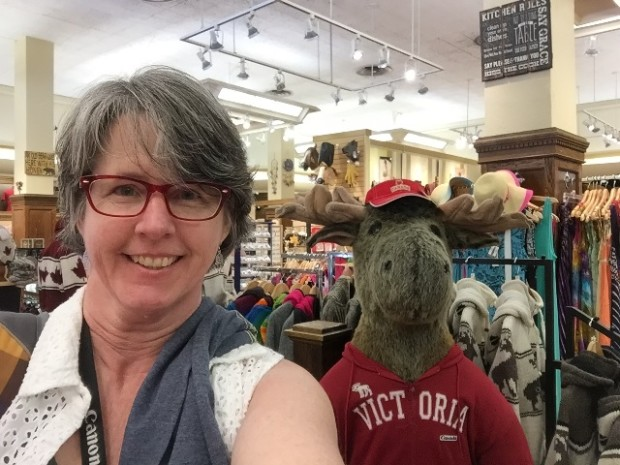 Selfie in Victoria, BC