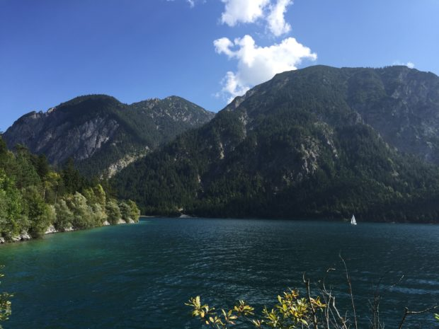 Lake Plansee in Austria (I think)