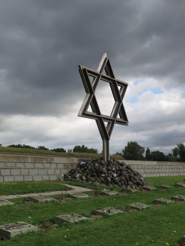 Star of David at The National Cemetery