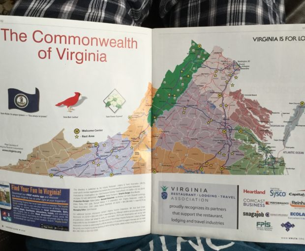 Virginia is a really big state.