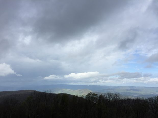 View from High Knob Lookout Tower (Stone Mountain)