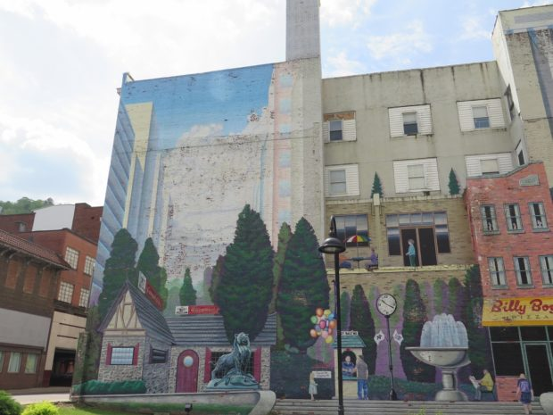 Mural in Downtown Welch