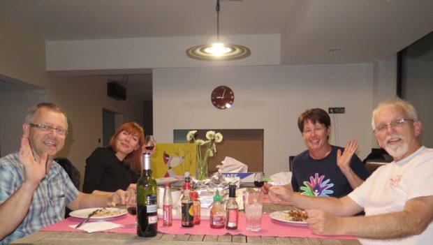 Final Dinner in Belgium