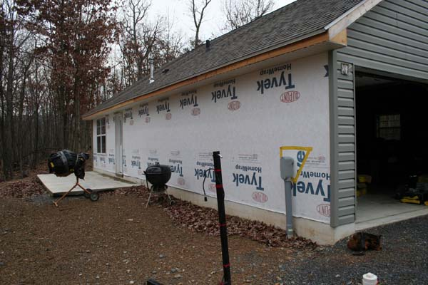 The Siding Installation Is Complete