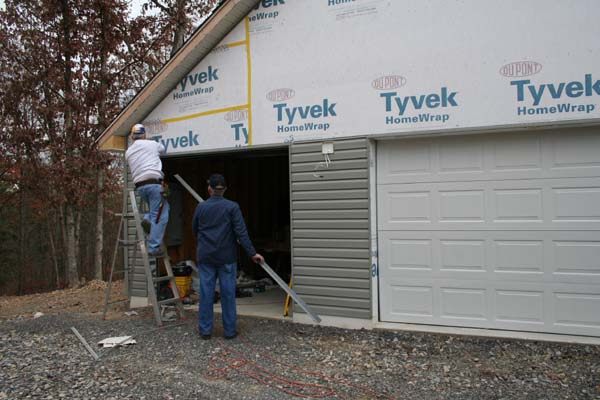 Vinyl Siding Around Garage Door Mycoffeepot Org