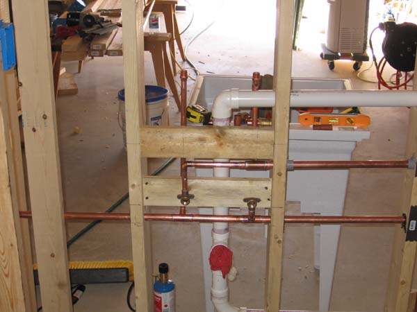 interior walls  u0026 plumbing  part ii