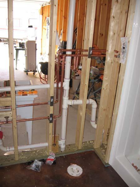 Interior Walls Amp Plumbing Part Ii