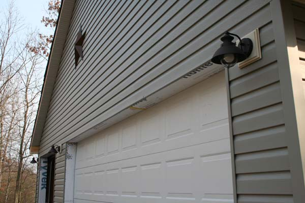 Awesome Exterior Garage Lights Pictures - Decoration Design Ideas ...
